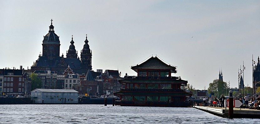 荷蘭-阿姆斯特丹-聖尼可拉斯教堂與Sea Palace