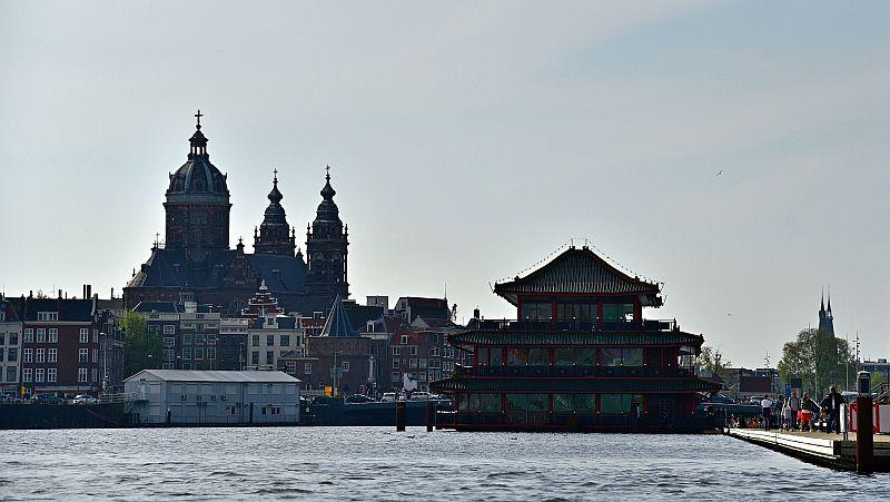 荷蘭-阿姆斯特丹-運河遊船