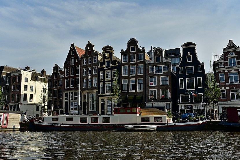 荷蘭-阿姆斯特丹-跳舞的房子