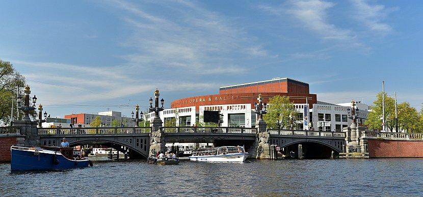 荷蘭-阿姆斯特丹-市政歌劇院