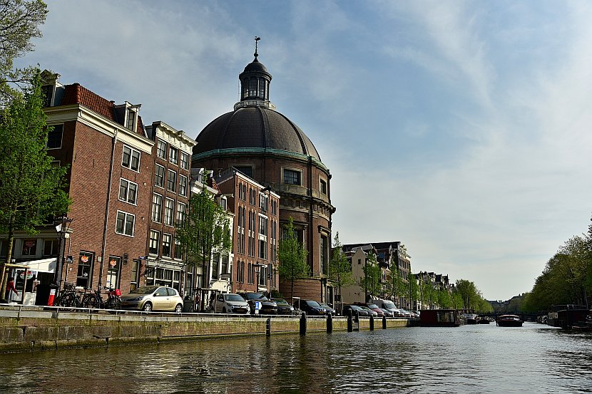 荷蘭-阿姆斯特丹-辛格運河Ronde Lutherse Kerk