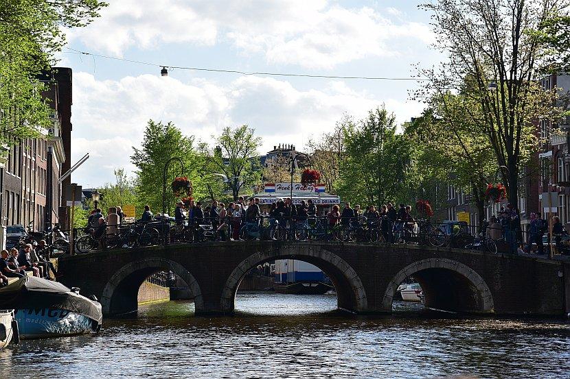 荷蘭-阿姆斯特丹-阿姆斯特丹運河