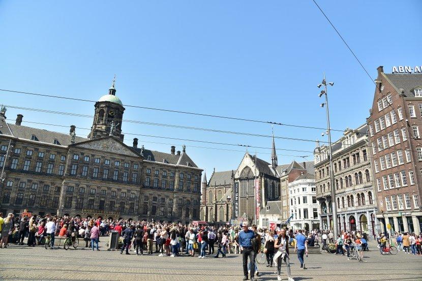 荷蘭-阿姆斯特丹-水壩廣場與阿姆斯特丹皇宮