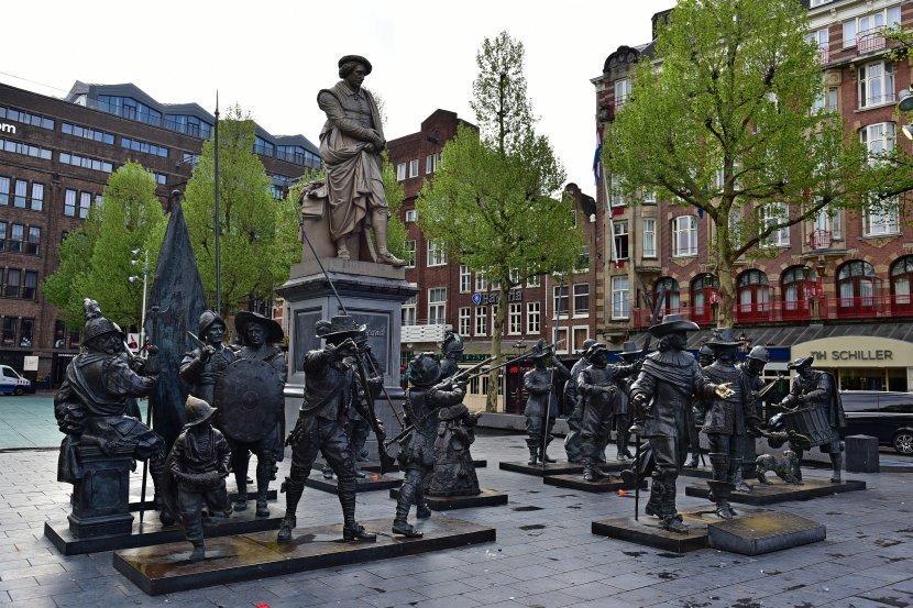 荷蘭-阿姆斯特丹-林布蘭廣場