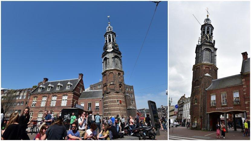 荷蘭-阿姆斯特丹-鑄幣塔