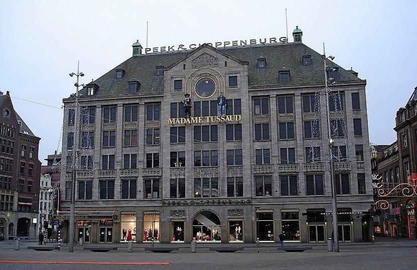 荷蘭-阿姆斯特丹-水壩廣場與杜莎夫人蠟像館(Madame Tussauds)