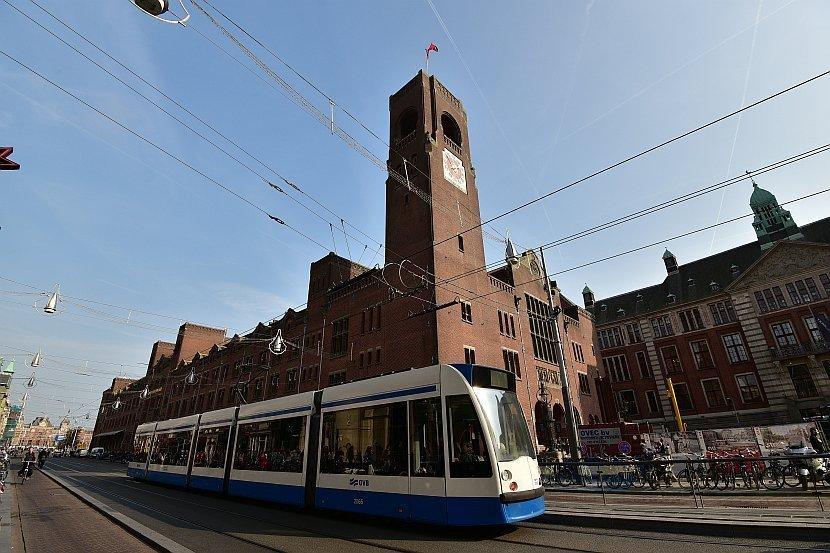 荷蘭-阿姆斯特丹-路面電車