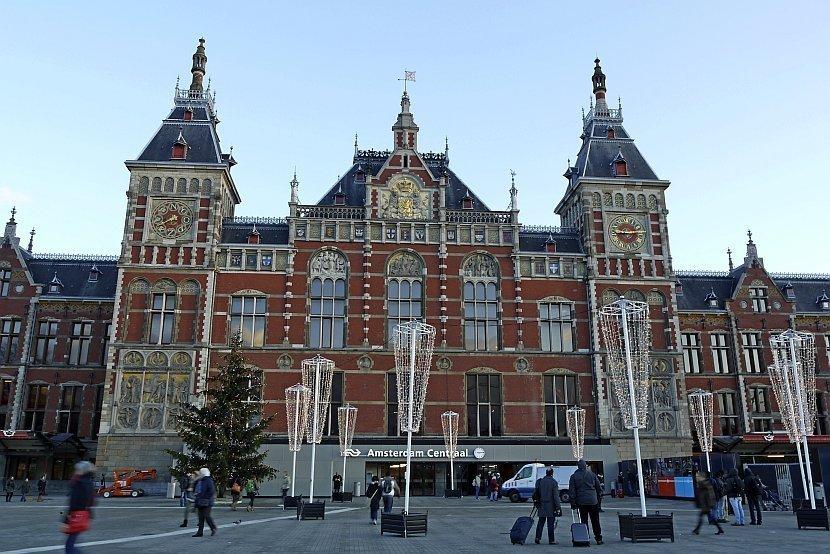 荷蘭-阿姆斯特丹-阿姆斯特丹中央車站