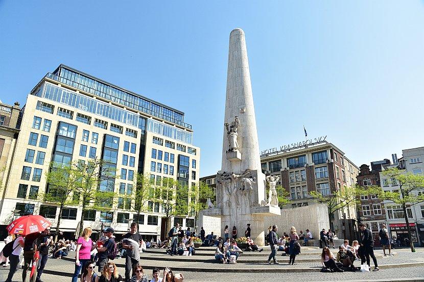 荷蘭 -阿姆斯特丹-國家紀念碑