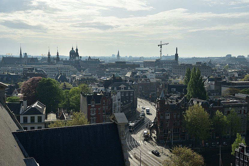 荷蘭 -阿姆斯特丹-西教堂鐘樓觀景台