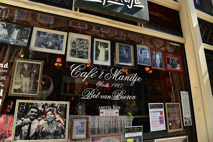 荷蘭-阿姆斯特丹-Café 't Mandje