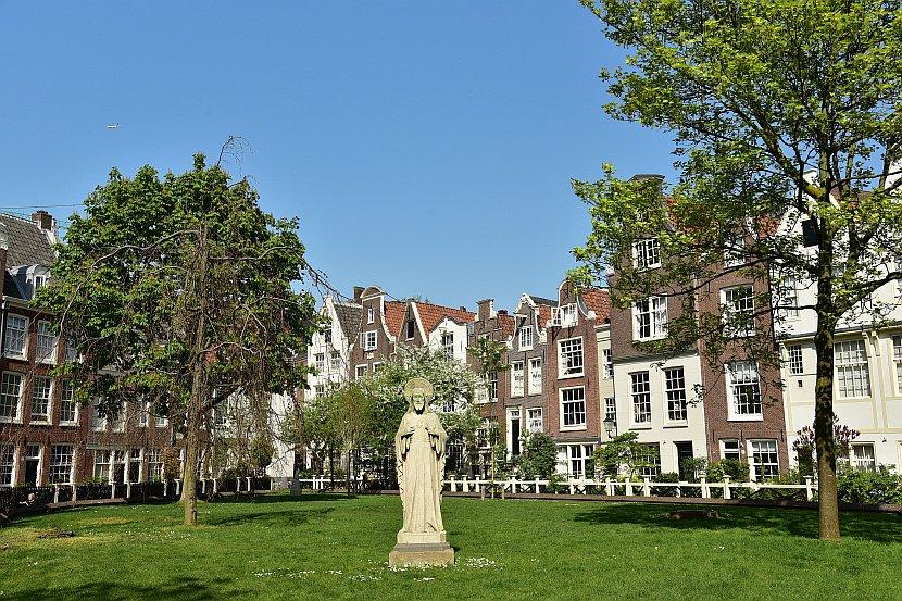 荷蘭-阿姆斯特丹-貝居安修道院(Begijnhof)