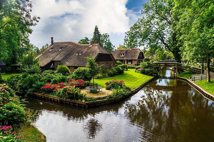 荷蘭-阿姆斯特丹-羊角村