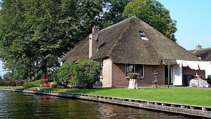 荷蘭-羊角村(Giethoorn)