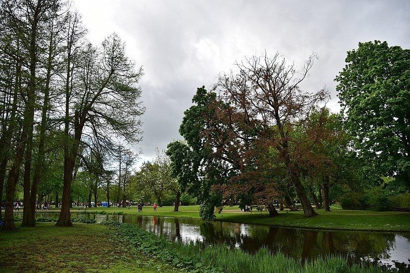 荷蘭-阿姆斯特丹-國王節-馮德爾公園