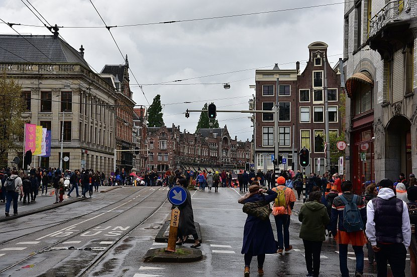 荷蘭-阿姆斯特丹-國王節-約丹區