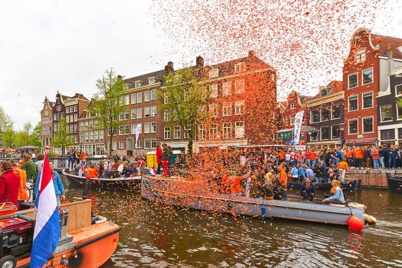 荷蘭-阿姆斯特丹-國王節