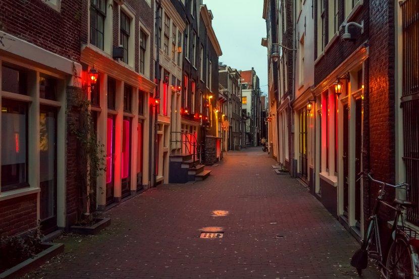 荷蘭-阿姆斯特丹-紅燈區