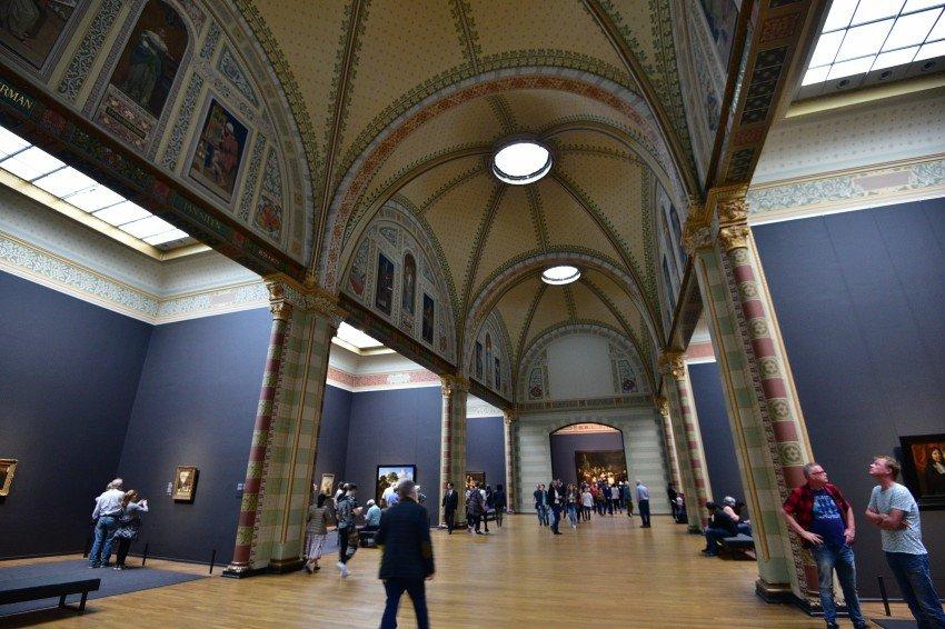 荷蘭-阿姆斯特丹-荷蘭國立博物館-Level 2的大廳