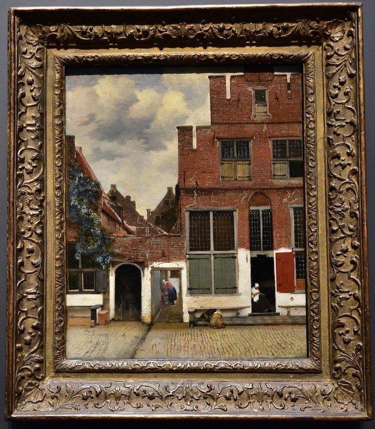 荷蘭-阿姆斯特丹-荷蘭國立博物館-維梅爾的小街Little Street