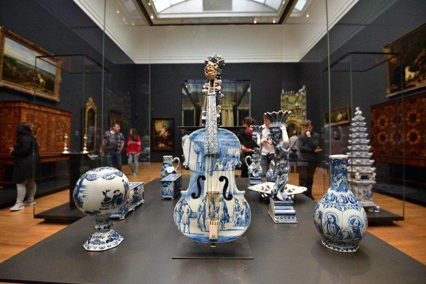 荷蘭-阿姆斯特丹-荷蘭國立博物館-台夫特青瓷
