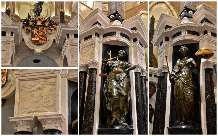 荷蘭-台夫特-市集廣場-新教堂的威廉一世棺木