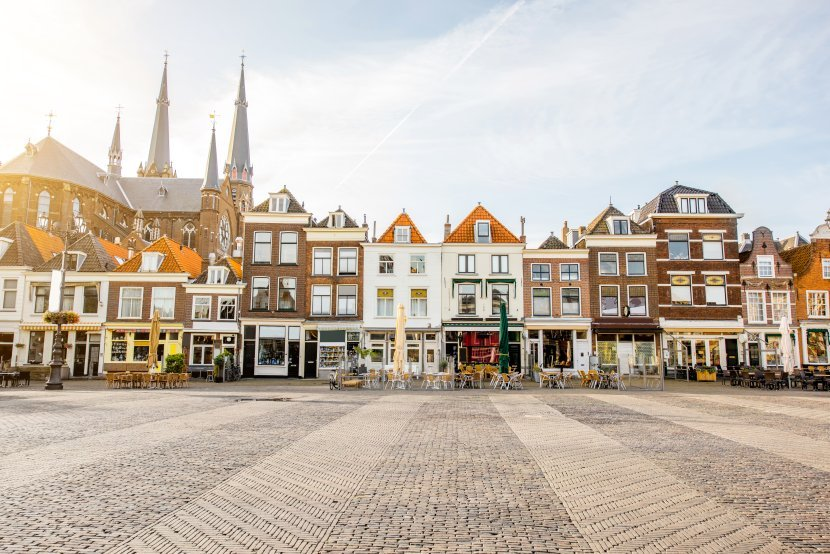 荷蘭-台夫特-市集廣場
