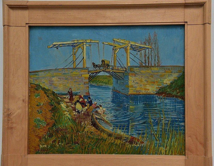 荷蘭-高費呂韋國家公園/梵谷森林-庫勒慕勒美術館-梵谷-亞爾的吊橋