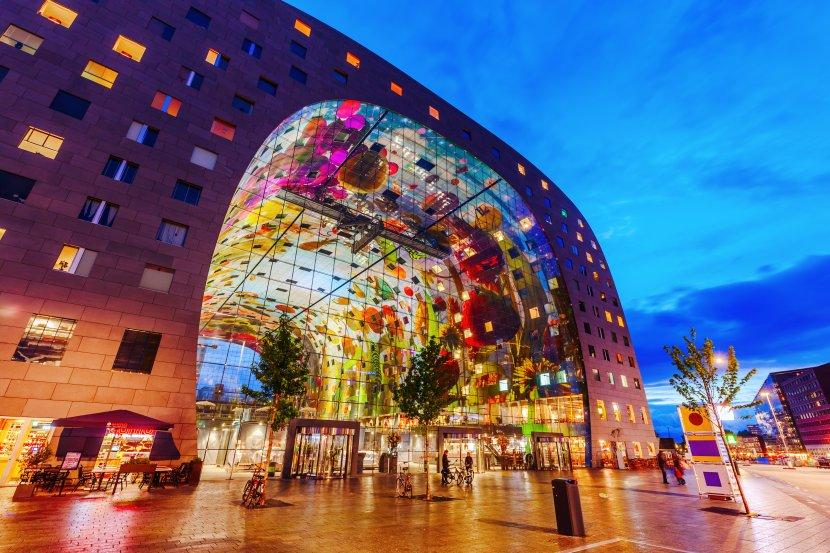 荷蘭-鹿特丹-市集廣場