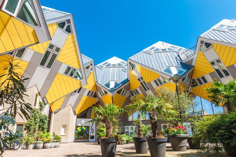 荷蘭-鹿特丹-方塊屋