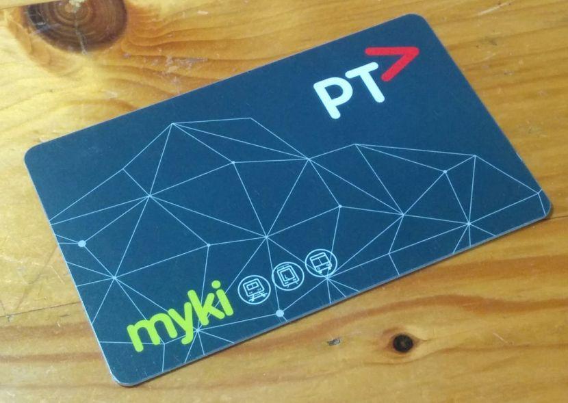 墨爾本大眾運輸車票-mykicard