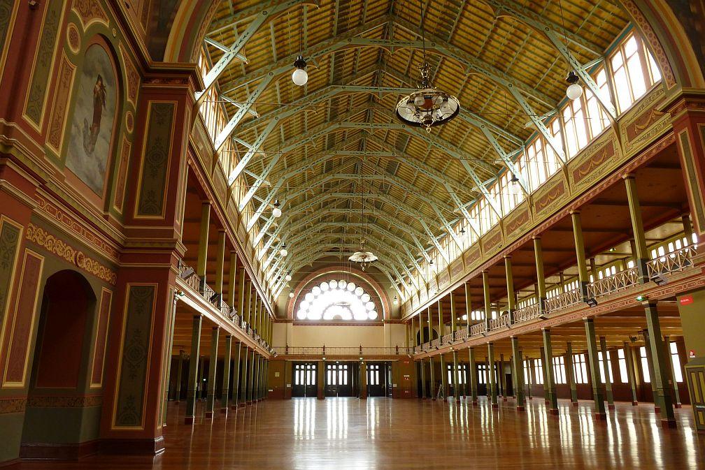 墨爾本皇家展覽館Melbourne Royal Exhibition Building內部導覽