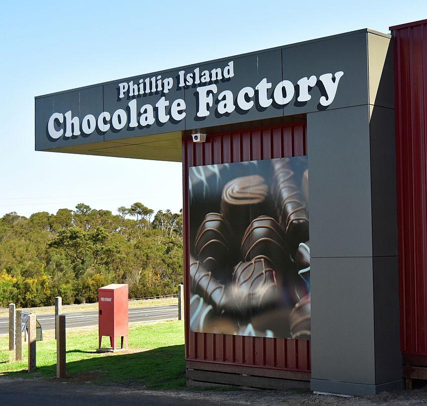 墨爾本-菲利普島-巧克力工廠