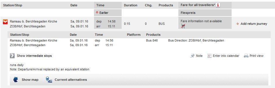 貝希斯特加登到藍紹的公車