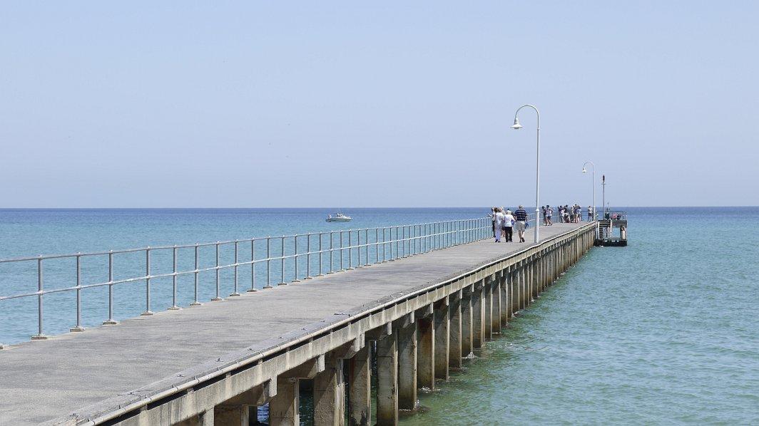 墨爾本-摩寧頓半島-絕美沙灘Safety Beach
