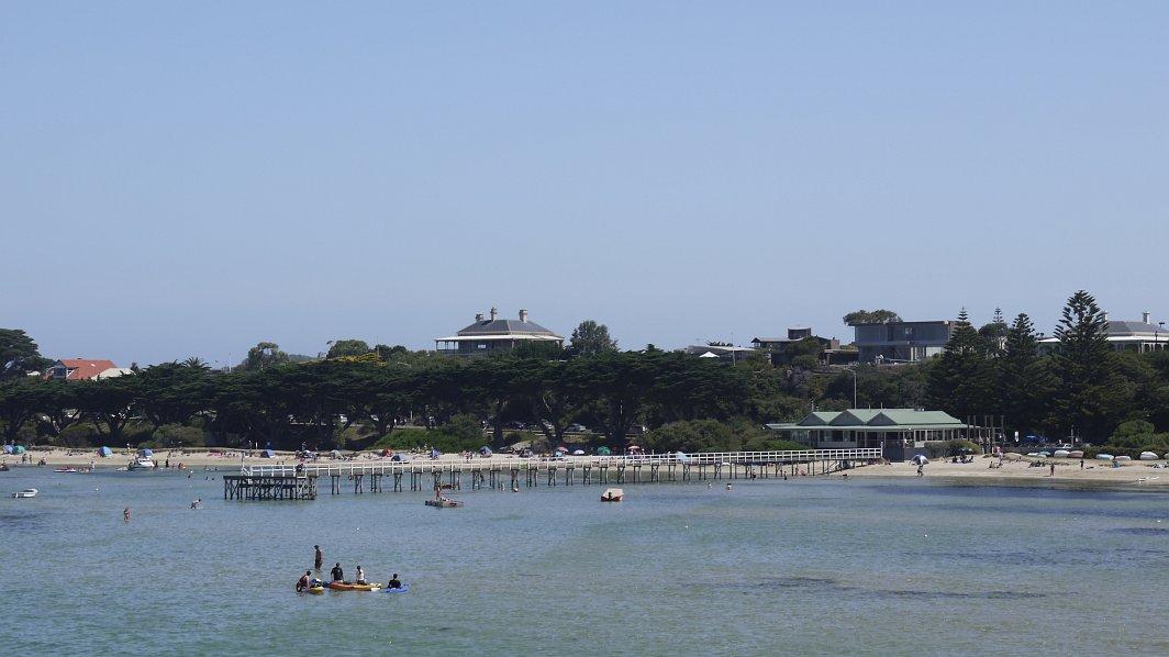 澳洲-維多利亞州-摩寧頓半島-絕美沙灘Sorrento Beach