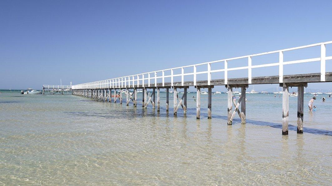 墨爾本-摩寧頓半島-絕美沙灘Sorrento Beach