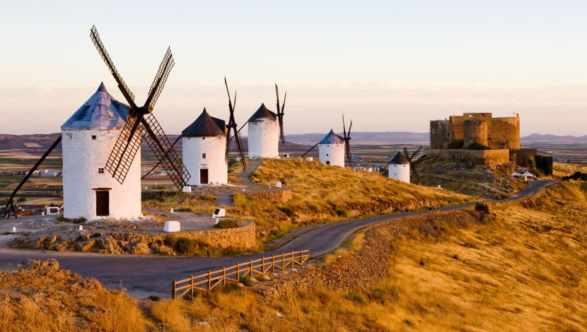 西班牙-Consuegra風車村