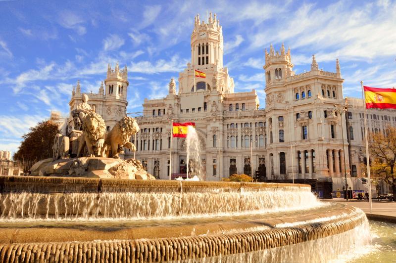 西班牙-馬德里-西貝萊斯宮