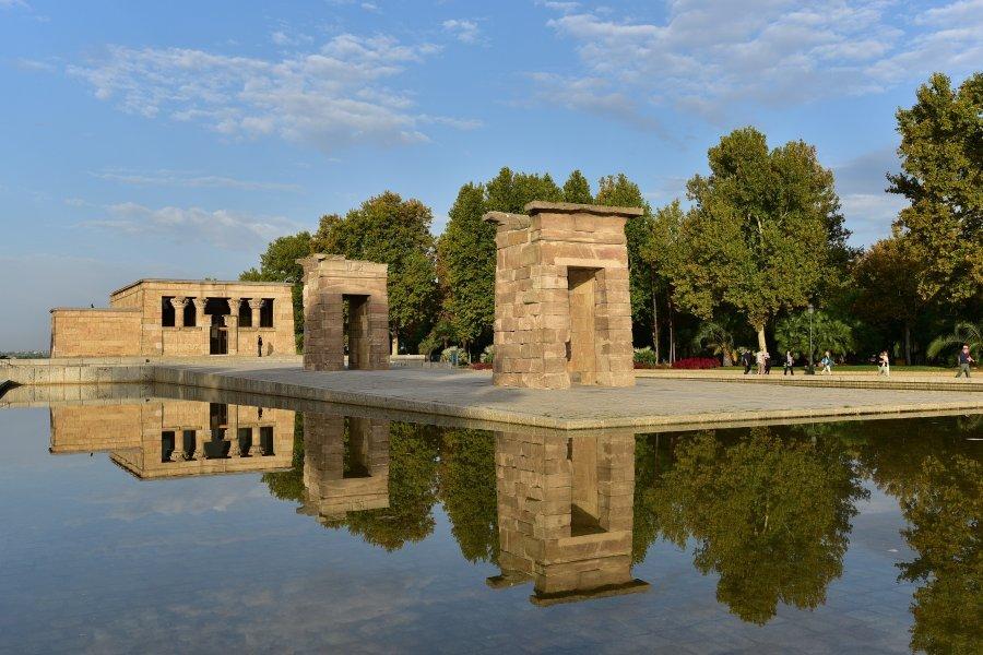 西班牙-馬德里-德班神廟