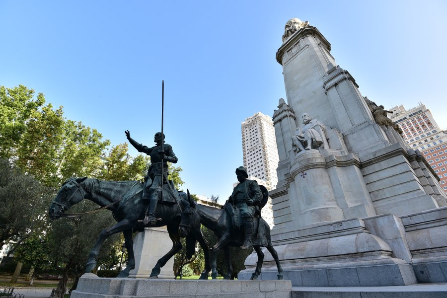 西班牙-馬德里-西班牙廣場