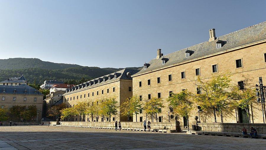 西班牙-馬德里-埃斯科里亞爾修道院