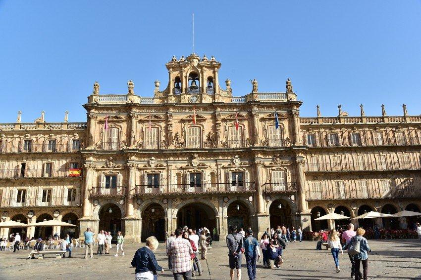 西班牙-薩拉曼卡-主廣場