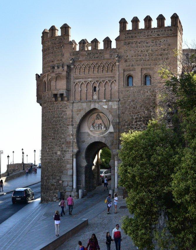 西班牙-托雷多-太陽門