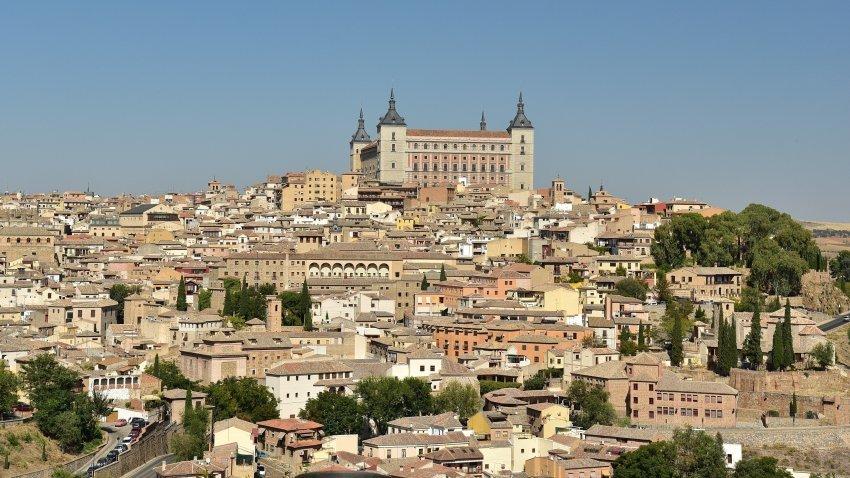 西班牙-托雷多-舊城區全景