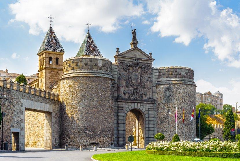 西班牙-托雷多-舊城區比薩格拉新門