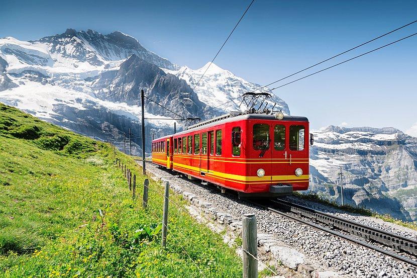 瑞士-少女峰鐵道