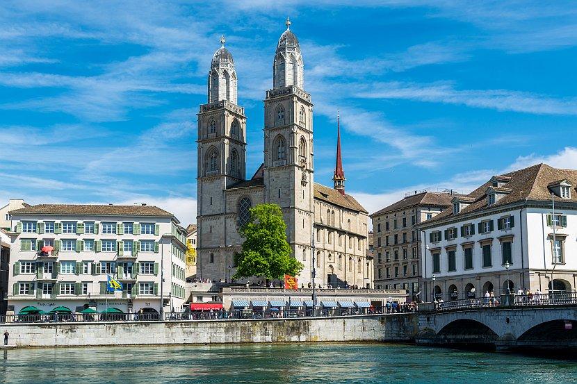 瑞士-蘇黎世-蘇黎世大教堂