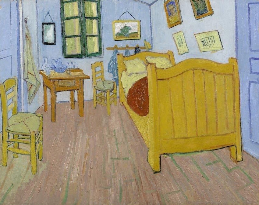 荷蘭-阿姆斯特丹-梵谷博物館-在亞爾的臥室(The Bedroom)