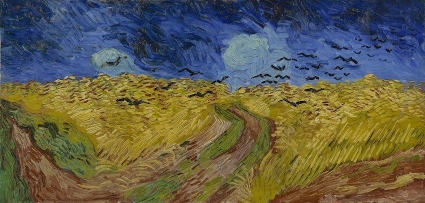 荷蘭-阿姆斯特丹-梵谷博物館-麥田的烏鴉(Wheatfield with Crows)